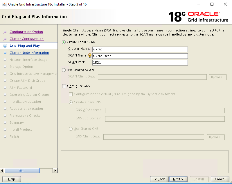 Oracle Grid Infrastructure 18c installation and patching on Linux - step by step