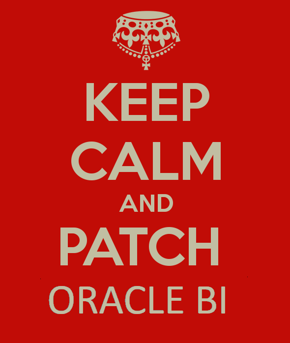 Security Issues after Patching Oracle BI Publisher 11.1.1.9.0